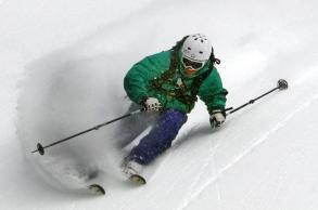 He can ski too.